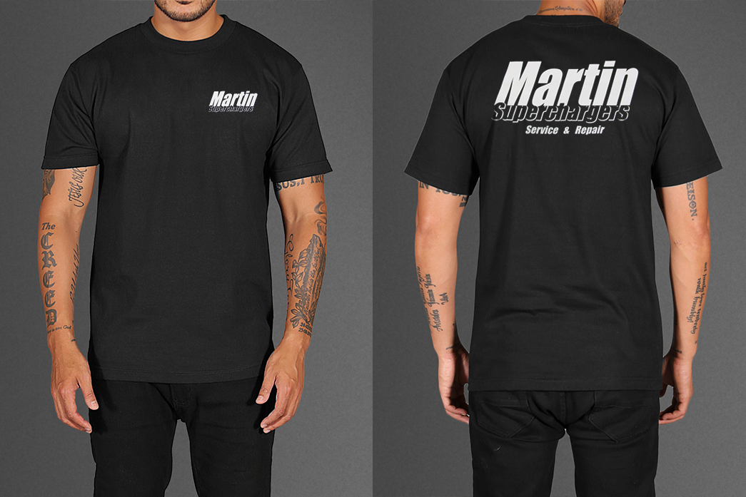 Martin Superchargers T-Shirts