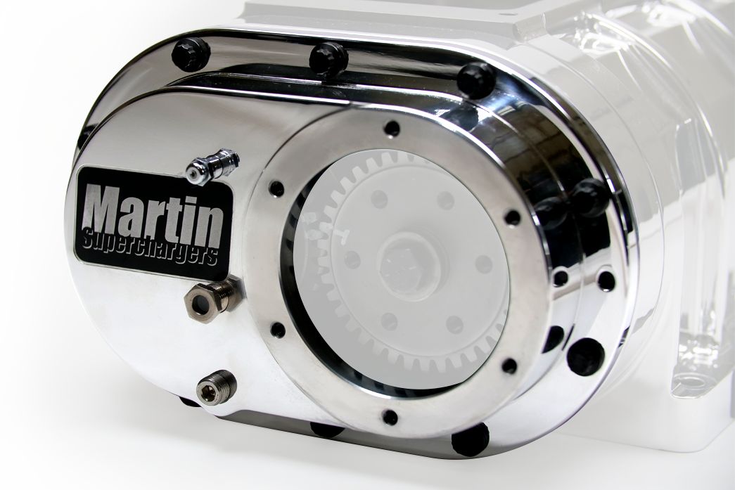 Martin Superchargers Cover with Logo