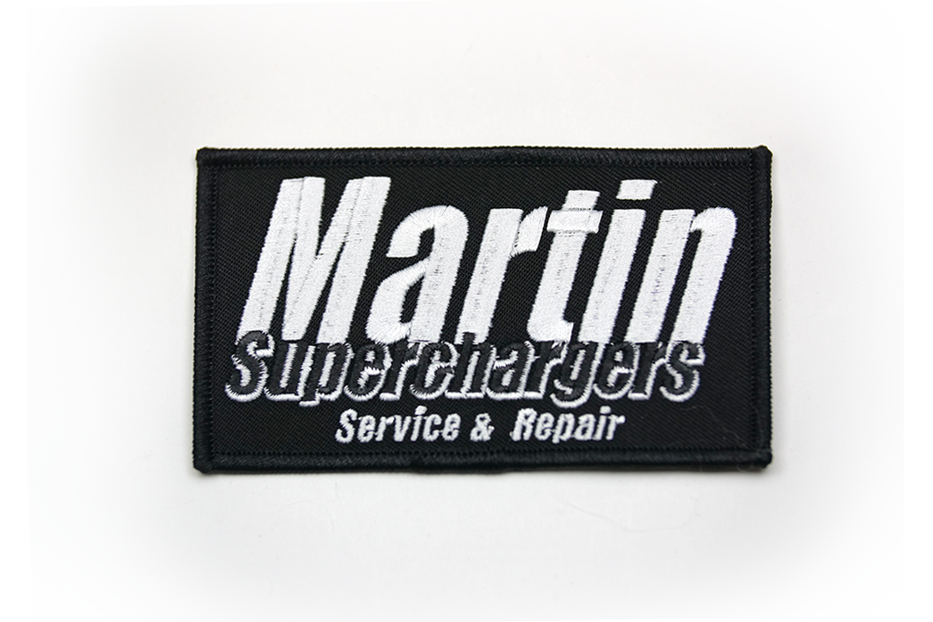 Martin Superchargers Patch
